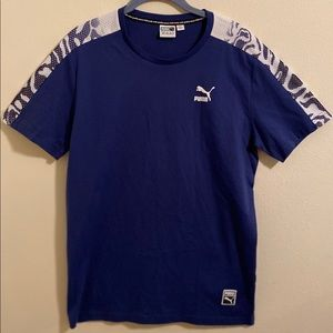 Puma Men's Short Sleeve Tee Shirt Size Medium